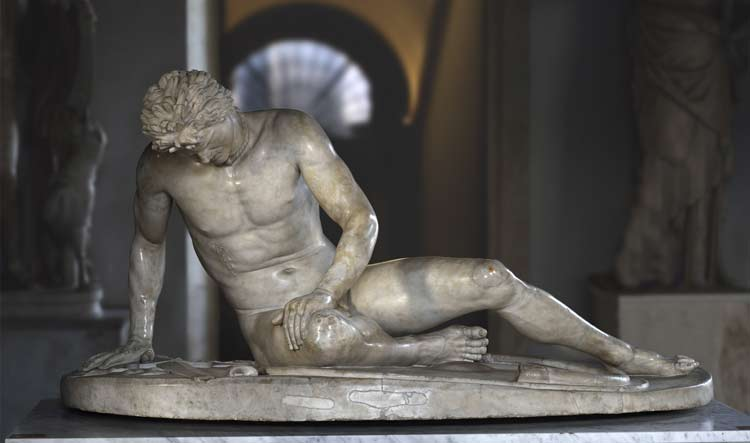 The Dying Gaul - Capitoline Museums