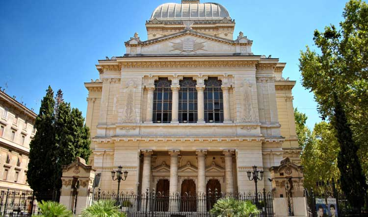 Great Synagogue - Trastevere & Jewish Ghetto in Rome